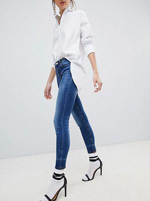Stradivarius Skinny jeans med låg midja