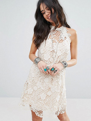 Free People Snowrop Trapeze Lace Party Dress