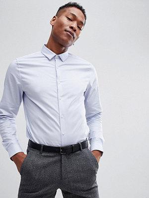 ASOS DESIGN Premium Stretch Slim Royal Oxford Shirt