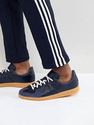 Adidas Originals BW Army Trainers In Navy CQ2756