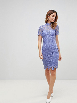 Paper Dolls Daisy Crochet Dress - Bluebell