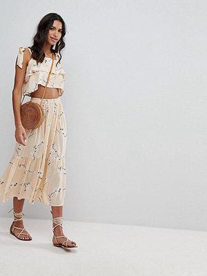 Faithful the Brand Faithfull Floral Midi Skirt Co-Ord