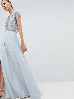 Asos Tall ASOS DESIGN Tall Bridesmaid delicate beaded bodice maxi dress