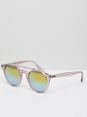 Ray-Ban Round Sunglasses in Pink 0RB4279