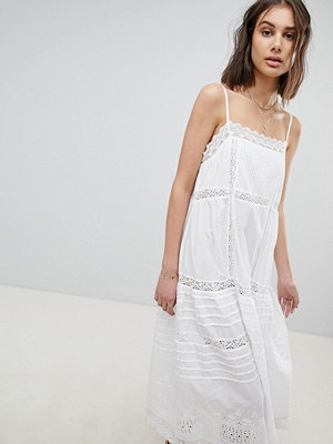 Free People Broderie Midaxi Dress