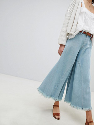 Free People Piroutte Wide Leg Jean