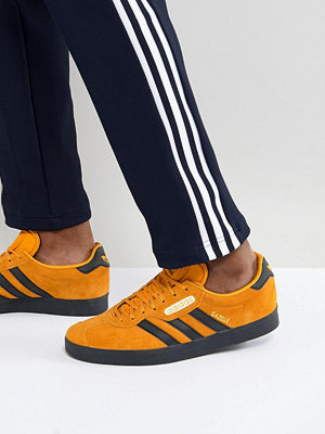 Adidas Originals Gazelle Trainers In Yellow CQ2795