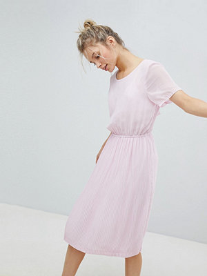 Monki Gathered Midi Dress