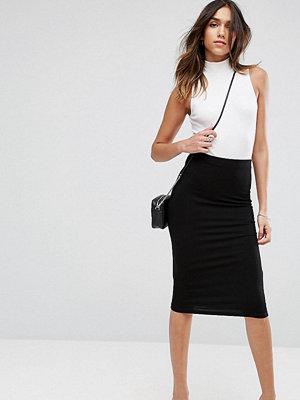 ASOS DESIGN jersey pencil skirt