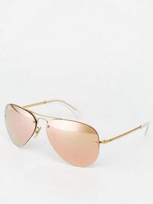 Ray-Ban Mirror Aviator Sunglasses 0RB3449