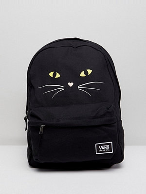 Vans ryggsäck Realm Classic Backpack With Cat Print