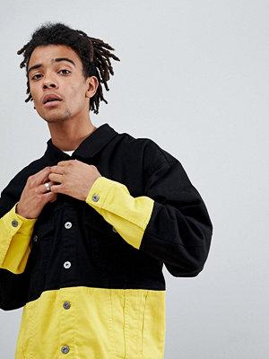 Jeansjackor - Granted Contrast Denim Jacket