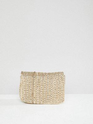 New Look axelväska Beaded Chain Shoulder Bag