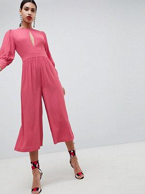 ASOS DESIGN 40'S Tea Jumpsuit With Sleeve Detail