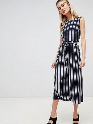 Warehouse Stripe Culotte Jumpsuit