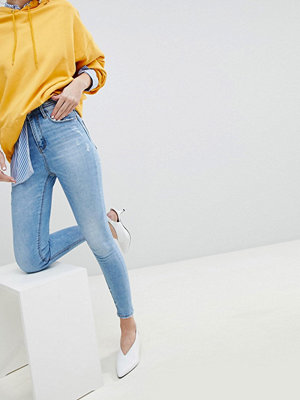 Stradivarius Skinny jeans med superhög midja