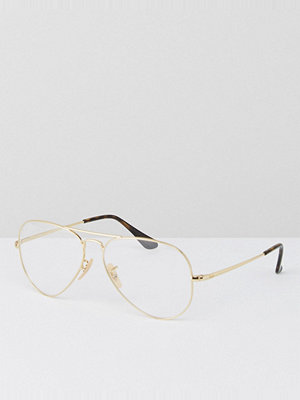 Ray-Ban Aviator Clear Lens Glasses