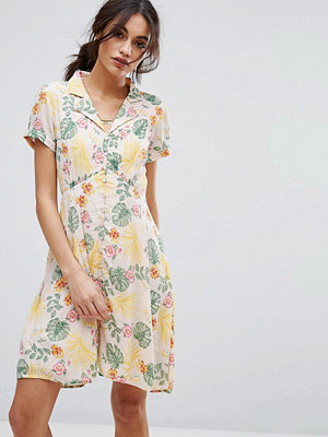 Vero Moda Floral Print Shirt Dress