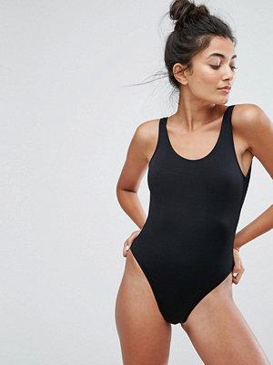New Look High Leg Swimsuit