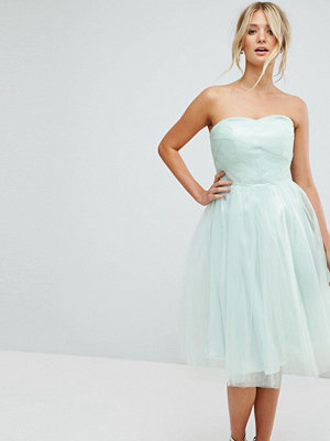 Hell Bunny Bandeau Tulle Dress - Mint