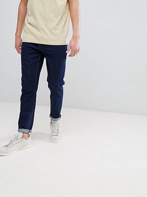 ASOS Tapered Jeans In Indigo