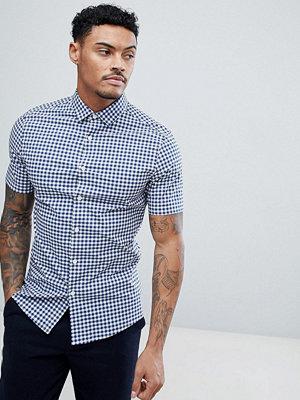 ASOS DESIGN smart skinny check shirt