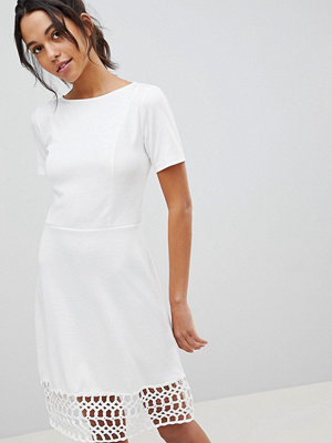 Y.a.s Crochet Hem Dress