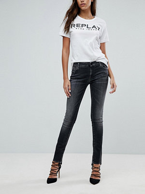 Replay Crop Jean with Step Hem