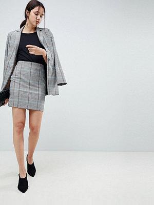 ASOS DESIGN mini skirt in coloured check