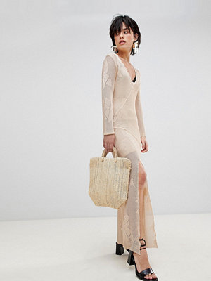 Free People It's Like This Crochet Lace Midi Dress