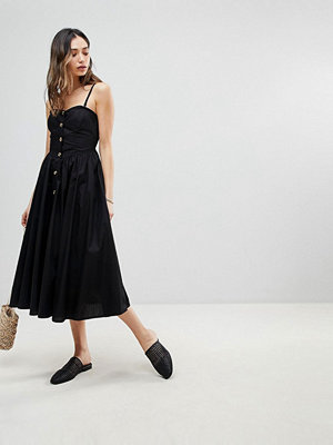 Free People Perfect Peach A-Line Midi Dress