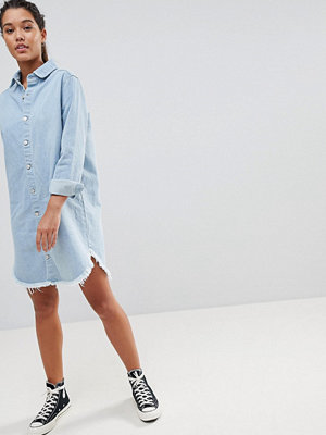 PrettyLittleThing Denim Shirt Dress
