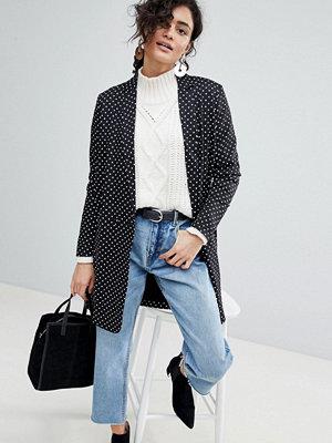Selected Polka Dot Long Blazer - Multi