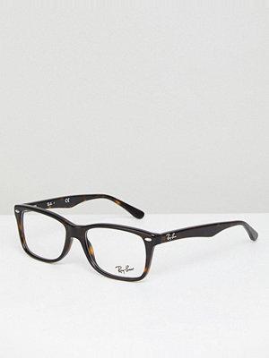 Ray-Ban Clear Lens Tortoise Wayfarer Glasses 0RX5228