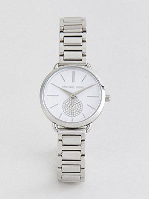 Michael Kors MK3837 Mini Portia Bracelet Watch In Silver 32mm