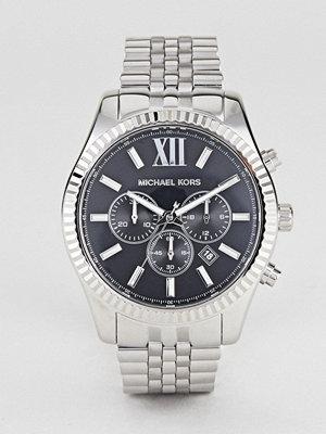 Michael Kors MK8602 Lexington Bracelet Watch In Silver 44mm