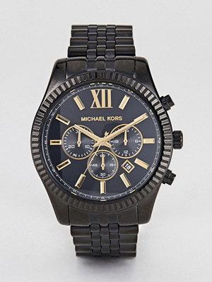 Michael Kors MK8603 Lexington Bracelet Watch In Black 44mm