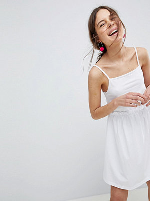 ASOS DESIGN square neck smock sundress