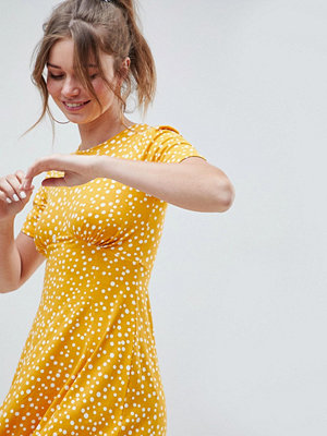 ASOS DESIGN ultimate mini tea dress in scatter spot