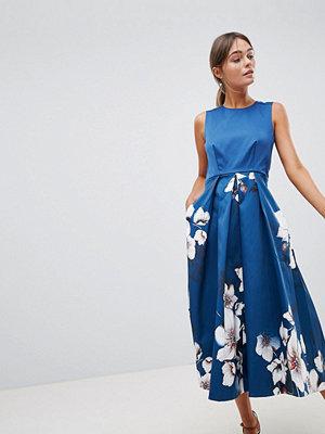 Closet London Closet Printed Skirt Dress