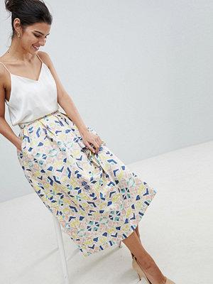 Closet London Closet Printed Skirt