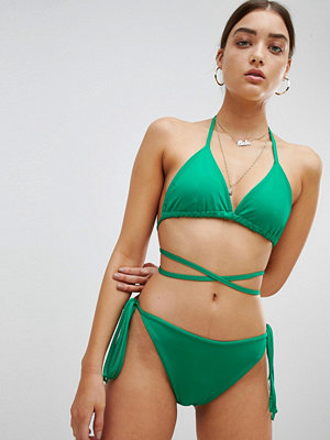 PrettyLittleThing Tie Side Bikini Bottoms
