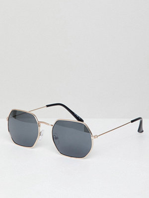 PrettyLittleThing Hexagon Sunglasses