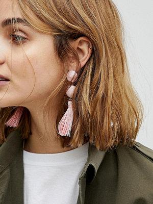 ASOS örhängen Wrapped Bead & Tassel Earrings