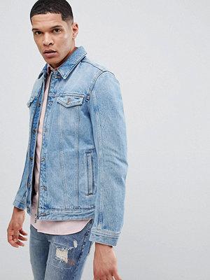 Jeansjackor - Hugo Zip Denim Jacket