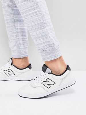 Sneakers & streetskor - New Balance Numeric AM424 Trainers In White AM424WTN