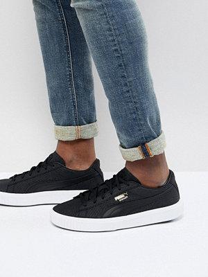 Sneakers & streetskor - Puma Breaker Suede Trainers In Black 36607701