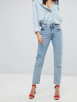 Diesel Neekhol Slim Fit Jean with Logo Tape Detail