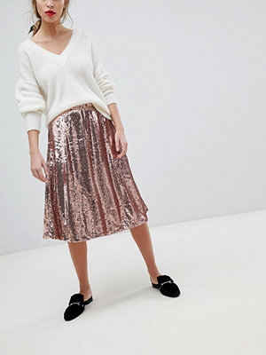 Vila Sequin Skirt