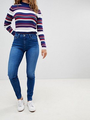 Tommy Hilfiger Denim Santana High Rise Skinny Jeans - Intense blue